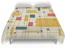 beautiful looking mid century modern duvet covers amazing cover king midcentury and society6 within