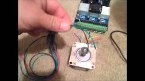 4 and 6 wire stepper motors