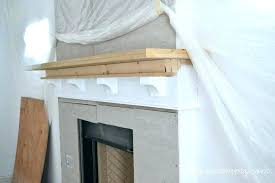 how to build fireplace mantels making a fireplace mantle how to build fireplace mantel shelf making