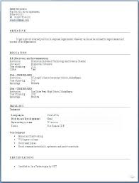 Resume Format Download In Ms Word Fresher Resume Format With Download In Ms Word Free Simple