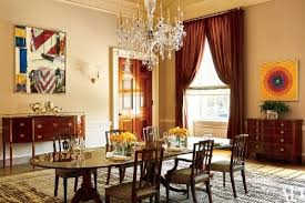 Painting Dining Room Beauteous The Obamas Have Created A Lovely Dining Room And Put A Very Modern