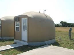 Concrete Cabin Worker Housing Monolithic Cabins Monolithic Dome Institute