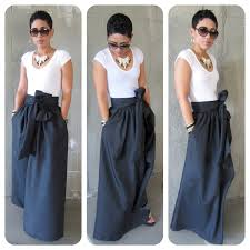 African Skirts Patterns New DIY Maxi SkirtAGAIN Fashion Lifestyle And DIY