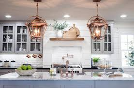 Drop Lighting For Kitchen Lovable Copper Awesome  Hammered Ideas a