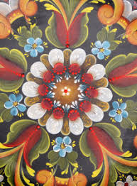 Rosemaling And Art Coloring In Designs Something To Ponder About
