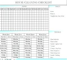 Cleaning Service Checklist Template Cleaning Com Website Template
