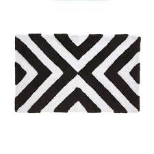 dazzling black and white chevron bath rug charming ideas target mat bathroom