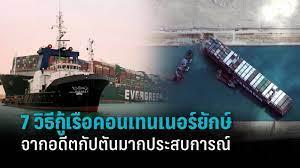 อดีตกัปตันเรือแนะ 7 วิธี กู้เรือ Ever Given หลังลอยลำได้แล้ว 65% : PPTVHD36