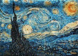 van gogh the starry night van starry night van gogh starry night painting technique van gogh