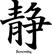 Serenity tattoo- I'm not much on tattoos but I love the serenity symbol