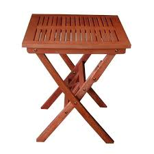 pemberly row outdoor wood folding bistro table