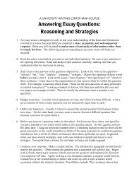 Difficult Essay Topics Answering Essay Questions Reasoning And Strategies A