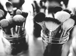 these shocking close up images of makeup brushes will make you want to clean yours asap more