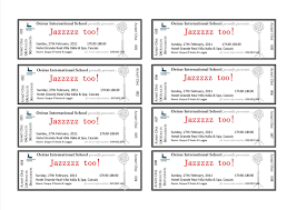 Avery Raffle Ticket Templates Best Template Design Images