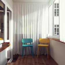Home Designs: Colored Chairs - Small Home Design