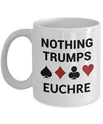 euchre card game gift best euchre player themed coffee mug funny nothing s