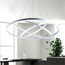 ring pendant light modern circular ring pendant lights 3 2 1 circle rings acrylic aluminum ring pendant light