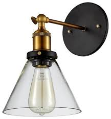 Lighting sconces for living room Electric Wall Industrial Glass Wall Sconce Hallway Wall Light Living Room Wall Light Houzz Industrial Glass Wall Sconce Hallway Wall Light Living Room Wall