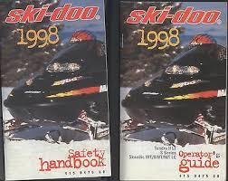manuals ski doo skandic trainersme 1998 ski doo tundra ii lt s skandic snowmobile operator s safety manual 159