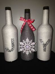 Wine Bottle Crafts  Crafts Adults Can Do  Pinterest  Wine Wine Bottle Christmas Crafts
