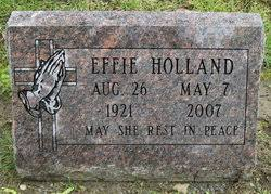 Effie Hornsby (Browning) Holland (1921-2007) - Find A Grave Memorial