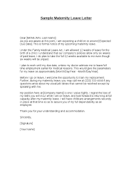 sample maternity leave letter employer resignation letter format 14 download free documents doc 425367