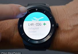 lg smartwatch. the lg g watch r (pictured) was unveiled at ifa trade show in lg smartwatch