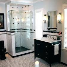 best bathroom images on bathrooms decor bath regarding black and white shower tile designs ideas with
