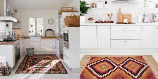 best kitchen rugs collage of bright coloured orange rugs in white bright and clean kitchens