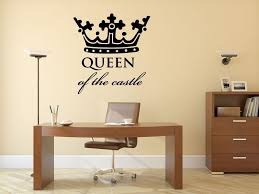attractive king and queen crown wall decor as well as wall decal design large crown decals for walls princess in