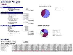 Break Even Graph Excel Breakeven Analysis With Charts Business Insights Group Ag Break Even