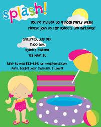 birthday pool party invitations net first birthday pool party invitations drevio invitations design birthday invitations