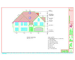 elevations for residential home design development drawings abc1 a1 frontelev jpg