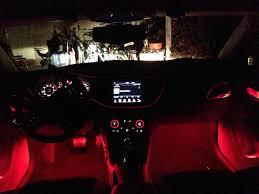 Interior Dash Lights My Custom Ambient Lighting And Led Bulbs Dodge Dart Forum