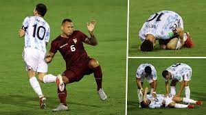 Messi suffers horrific tackle as ...