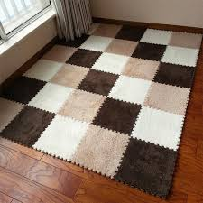 warm living room floor mat cover carpets floor rug soft area rug puzzle climbing baby mat 30 30cm living room patchwork carpet floor mats baby climbing