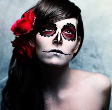 41 beautiful colorful sugar skull halloween makeup ideas