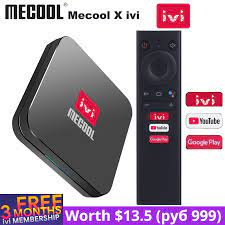 Mecool X ivi KM9 PRO 2GB 16GB TV Box Android 10 Wifi 4K Media Player Google  Certified Smart S905X2 USB3.0 ATV TVBox|Set-top Boxes