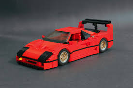 The f40 put the crows feet on our stony editorial faces. Prototyp Works Ferrari F40 Lm Lego 10248 Supermod