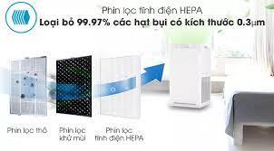 HCM]TRẢ GÓP 0% - Máy lọc không khí Daikin MC40UVM6 - Chức năng chiếu xạ  Streamer