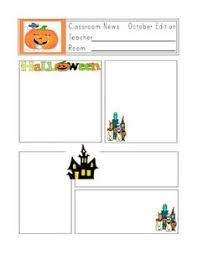 October Preschool Newsletter Template | The Crafty Teacher ...
