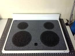 whirlpool ceramic glass cooktop cleaner range white s