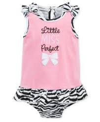 First Impressions Baby Clothes Delectable First Impressions Baby Girls' Little Miss Perfect Sunsuit Only At