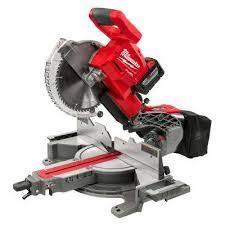 miter box saw. m18 18-volt fuel lithium-ion cordless brushless 10 in. dual bevel sliding miter box saw