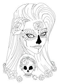 pictures of skulls to color. Perfect Skulls Skulls Coloring Pages For Free Skull Sugar Pdf Download Colorin    Intended Pictures Of Skulls To Color L