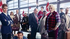 newfoundland and labrador actress petrina bromley centre is featured as part of a spread on come from away in vanity fair s february 2017 issue