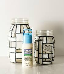 Mason Jar Crafts Mondrian Mason Jars Mason Jar Crafts Love