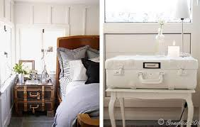 Old trunks and suitcases | I've always wanted an old trunk to keep all my  blankets in. Out of these examples, I'm going more for the table-suitcase  combo on ...