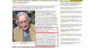eva golinger does a johann hari on noam chomsky infodio chavez propagandist evagolinger has pulled a johann hari link is external on noam chomsky the sweetheart of the n venezuelan eunuch dictators