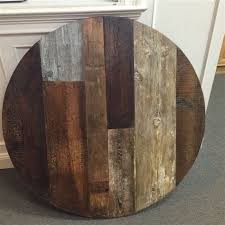30 round wooden dining table reclaimed wood round dining table 42 round